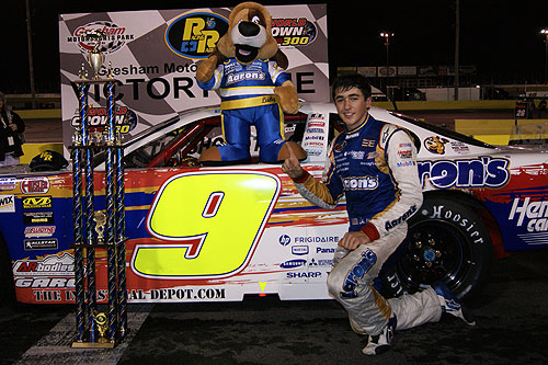 Chase Elliott Goes Two-for-Two at Gresham Motorsports Park with Racing Radios 100 Victory