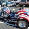This is a 2001 Boss Hoss Trike 32 Ford Coupe body style, with the 350 Chevy, has 13,000 miles. Beautiful patriotic paint job. Has a radio attached to windshield that […]