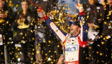 The Brothers Busch won the first four segments of Saturday night's Sprint All-Star Race at Charlotte Motor Speedway, but Jimmie Johnson took the one the counted—the 10-lap dash to the...