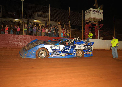 Armistead nabs late model laurels at Senoia Raceway