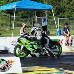 Race 2 Street ET Motorcycle winner Jimmy Heisler.