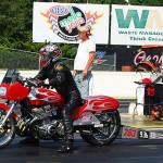 Race 2 Super Pro Motorcycle winner Jay Rhyne.