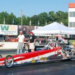 Race 2 Super Pro winner Donny Brown Jr.