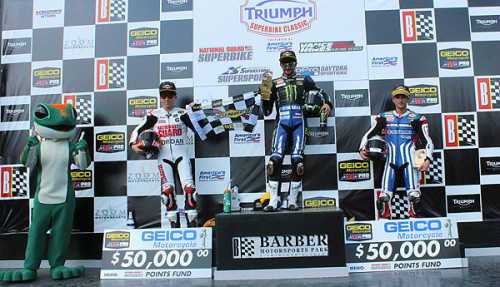 35,353 attend three-day Triumph SuperBike Classic at Barber Motorsports Park