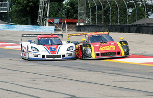 Close racing througout the 6 hours at The Glen.