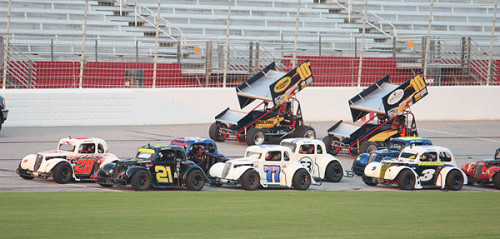 Sprint Car Shootout scheduled to be held after NASCAR's Sprint Cup Series Qualifying on Friday, August 30th