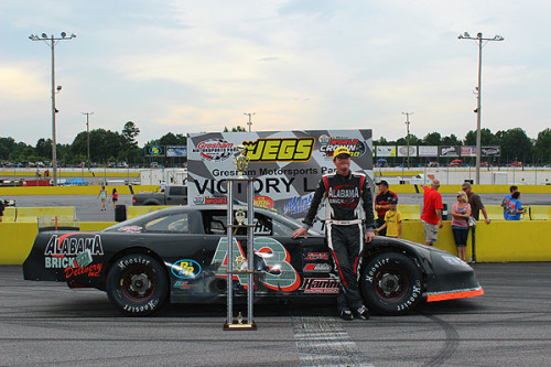 South Wins JEGS Pro Late Model 100 at GMP