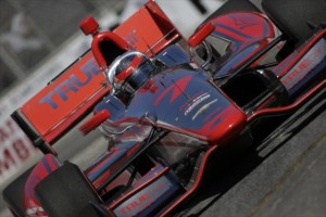 Sebastien Bourdais on course in Toronto -- Photo by: Shawn Gritzmacher