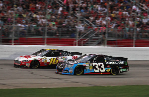 Austin in the 33 Chevy finished 19th after starting in the 26th position.