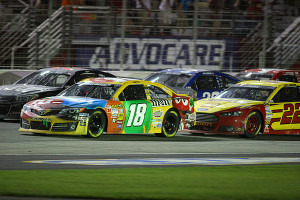 Busch is 1st and Logano came in 2nd.