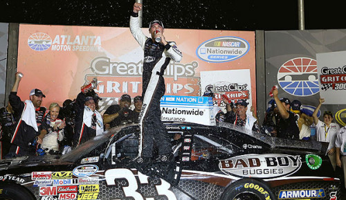 NNS Recap: Kevin Harvick holds off Kyle Busch for thrilling Atlanta win