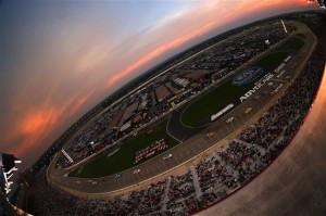 A general view of the track during the NASCAR Sprint Cup Series AdvoCare 500 at Atlanta Motor Speedway.Credit: Mike Ehrmann/Getty Images
