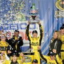 The rich got richer. Matt Kenseth, the top seed in the Chase for the NASCAR Sprint Cup, added to his advantage in Sunday's rain-interrupted GEICO 400 at Chicagoland Speedway. With […]