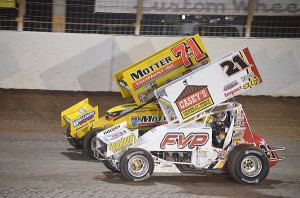 Second place Brian Brown   battled third place Joey SaldanaPhoto by Phillip Prichard