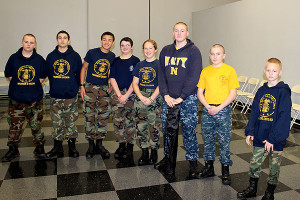 Thanks to the Navy Sea Cadets for all their help at the event.