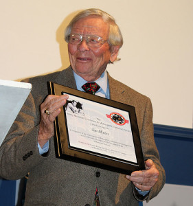 Jim Minter helped promote racing in Georgia.
