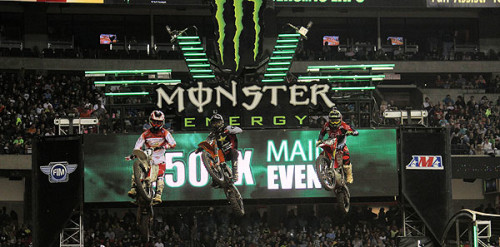 Roczen Wins Second-Career Monster Energy Supercross Race at Georgia Dome