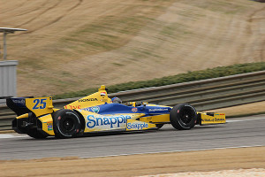 Andretti in action.