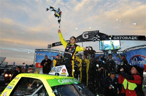 Crafton wins Martinsville NASCAR Camping World Truck Series race in 'overtime'