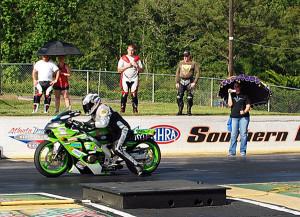 "Super Pro Bike race 2 winner Jimmy ""ChaCha"" Heisler"