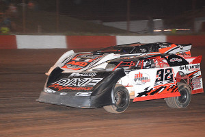 Action in Late Models race