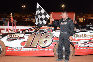 Randy took home $2,000 for his Late Model win