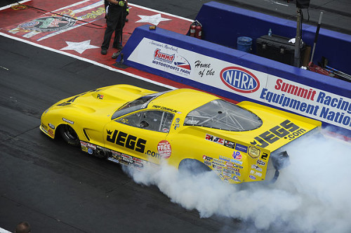 TROY COUGHLIN EARNS FIRST SEASON WIN IN NHRA PRO MOD DRAG RACING SERIES AT SUMMIT RACING EQUIPMENT NHRA NATIONALS