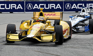 Ryan Hunter-Reay finished 14th