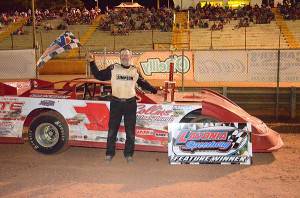 Collins out ran everyone for a win in Hobby Series