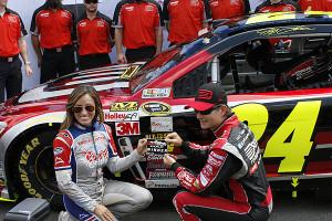 Gordon won the Pole for Sunday