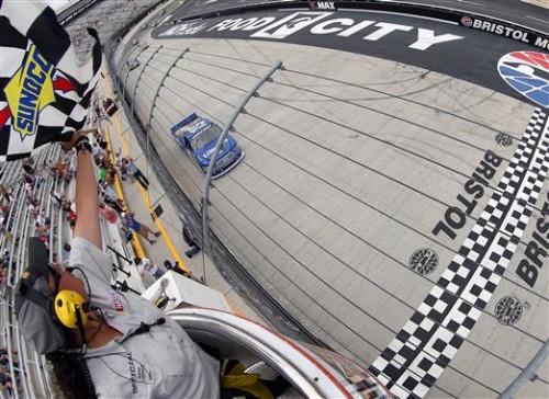 Brad Keselowski Earns First NASCAR Truck Series Win At Bristol