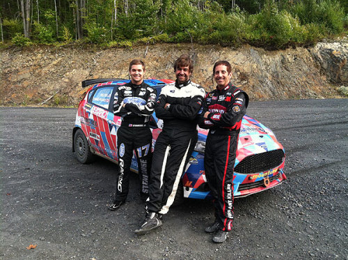 Biffle and Stenhouse Trade in Fusion for Fiesta ST at Team O'Neil Rally School