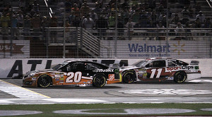 Denny Hamlin finished 3rd behind Matt who clinched his spot in The Chase.