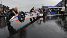 Story by Jenn McVay , photos by MSA Staff:  NHRA Road Show rolled into town and so did the rain. NHRA safety safari's prep work of the track was washed […]