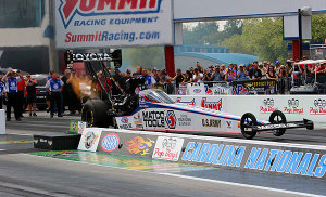 Antron Brown out early