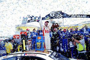 Celebration!Photo: NASCAR Media