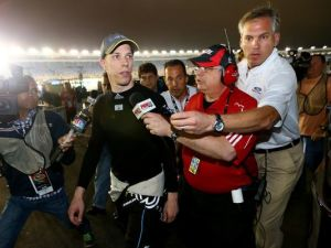 Brad Keselowski angered several drivers at the end of the Bank of America 500. Photo: Streeter Lecka, Getty Images