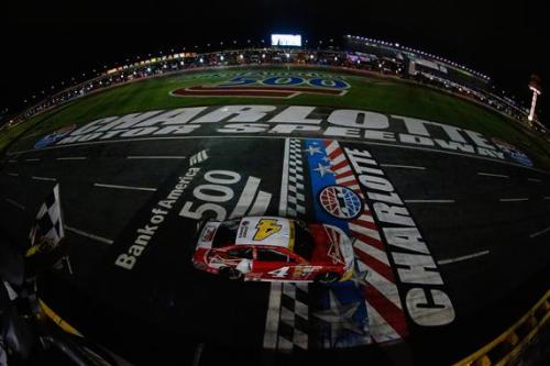 Harvick Advances With Charlotte Win As Tempers Flare After The Race