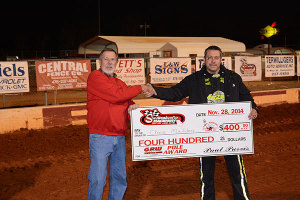 Chris Madden collected 400 GRW Comp Engines Pole check.
