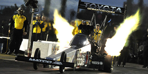 Funny Car racer Jack Beckman finished off a record-setting weekend of racing at Heartland Park Topeka Sunday by claiming a victory over category icon John Force at the NHRA Kansas […]