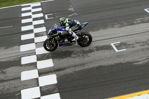 Cameron Beaubier crossed the finish line twice in Atlanta to take a 30 point lead over Josh Hayes in the Superbike Series