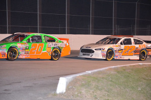 Winston, GA #22 Austin Hill finished fourth