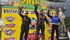 Matt Hagan won at his home track in Funny Car for the first time in his career Sunday at the NHRA Thunder Valley Nationals at Bristol Dragway. Richie Crampton (Top […]