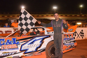 Shane Smith, Crate Late Model winner at Rome