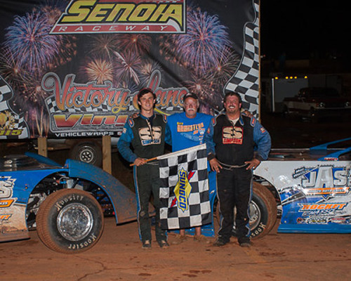 ARMISTEADS CELEBRATE FATHERS DAY WEEKEND WITH A FATHER SON SWEEP AT SENOIA RACEWAY