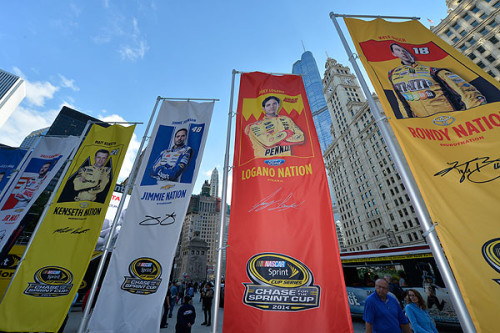 Beginning Of Chase For The Nascar Sprint Cup In Chicago Motorsportamerica Com
