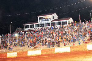 Packing them in the stands again at Rome Speedway