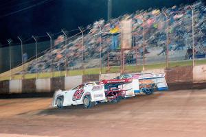 Photo Finish between Blant Duke and Joseph Brown
