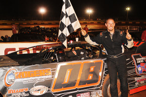 Crate Late Model winner Justing Shipley