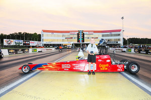 6-9 Jr Dragster winner Shawn Wilson